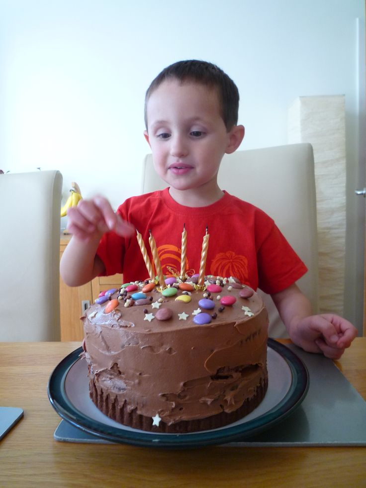 My little man's fourth birthday