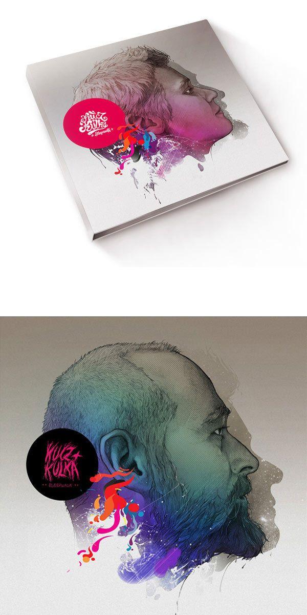 40 pochettes d'album graphiques et originales - graphisme