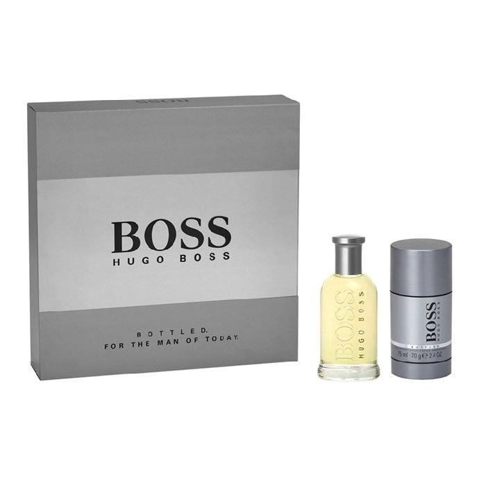 Giftset Hugo Boss Bottled Edt 50ml Deostick 75ml Hugo Boss Parfym Smink