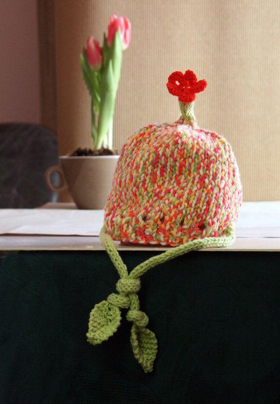Baby Hat /Newborn Hat / Handknit Hat / Newborn Photo by MyNewHat