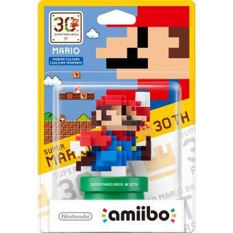 Collection Amiibo 30 Ans de Mario/Mario Couleur Moderne