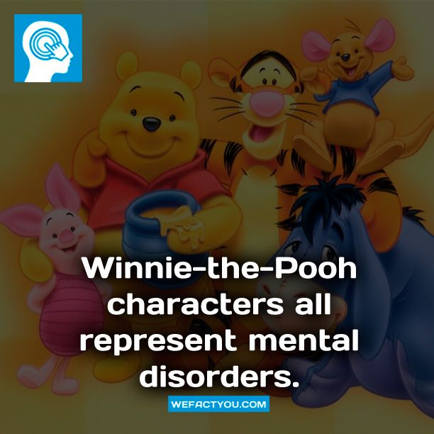 Cartoon Characters Mental Disorders : Best images about winnie the pooh on pinterest