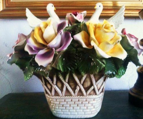 Best capodimonte flower centerpiece images on