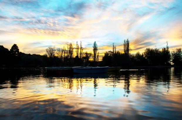 Stunning view of the sky at Zoo Lake #VisitGauteng #blue #sky #clouds http://www.lightboxstudios.co.za