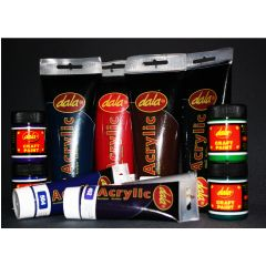 Acrylic Paint in a wide range of colours
