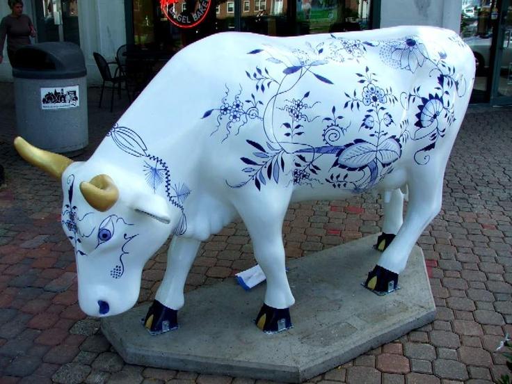 Cows on Parade - Classie Meissen Cow