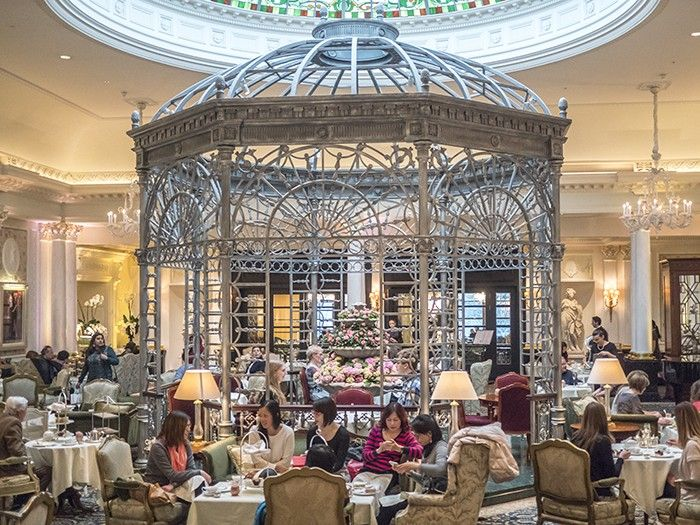 Afternoon tea at the Savoy Hotel Thames Foyer London (click through for more)