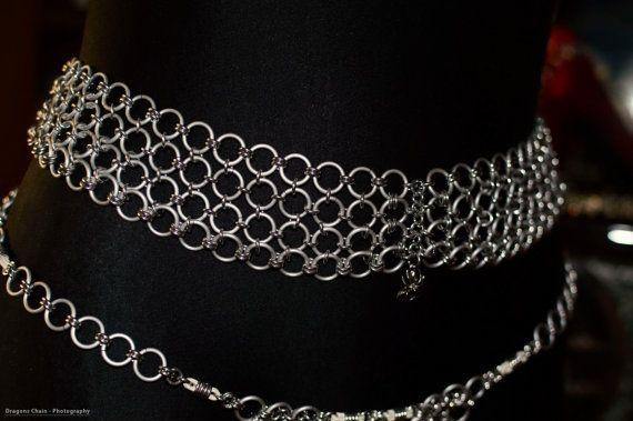 Chain Fashion von #DragonsChain#  'Anila' von DragonsChain auf Etsy