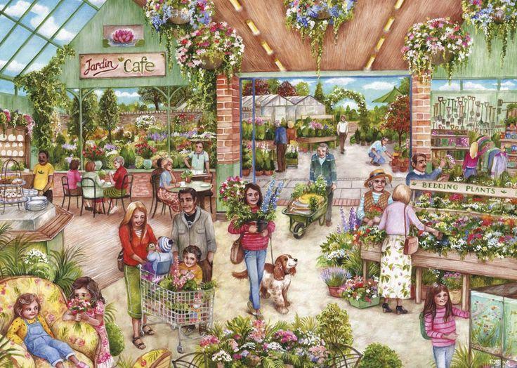 Praatplaat tuincentrum kleuters