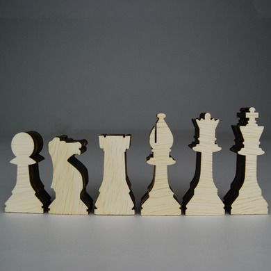 build a chess set | Make your own toys - Sustainable Wood Chess Set