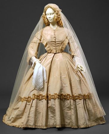 1000 Images About 1850s WEDDING DRESSES