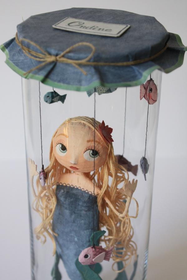 Chloé Rémiat - mermaid