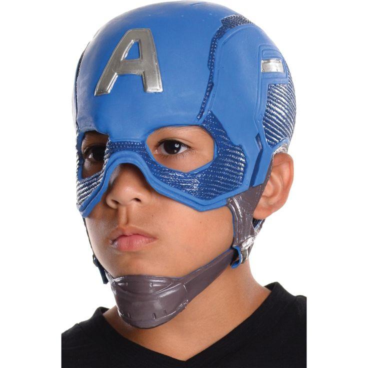 Capt America Cw Mask Child