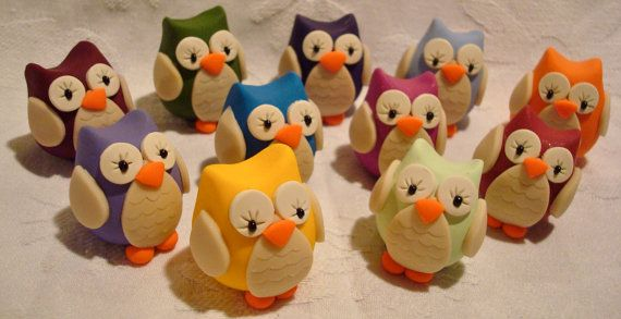 Each CHUBBY OWL is only made 1 time, this guarantees that the chubby owl you purchase will be one-of-a-kind. Created by toystorynutty $6.50