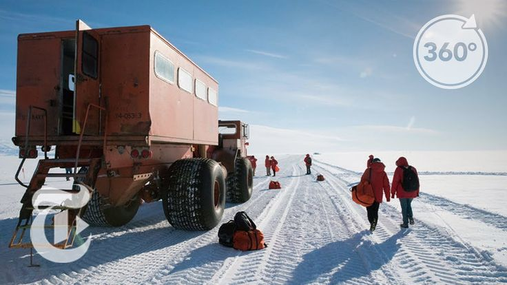 How McMurdo Station Is Run On The Least Habitable Continent   360 VR Vid...