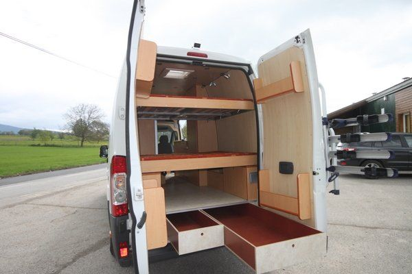 401 Best Images About Camper Sprinter Van Cargo Trailer Conversion On Pinterest Utility