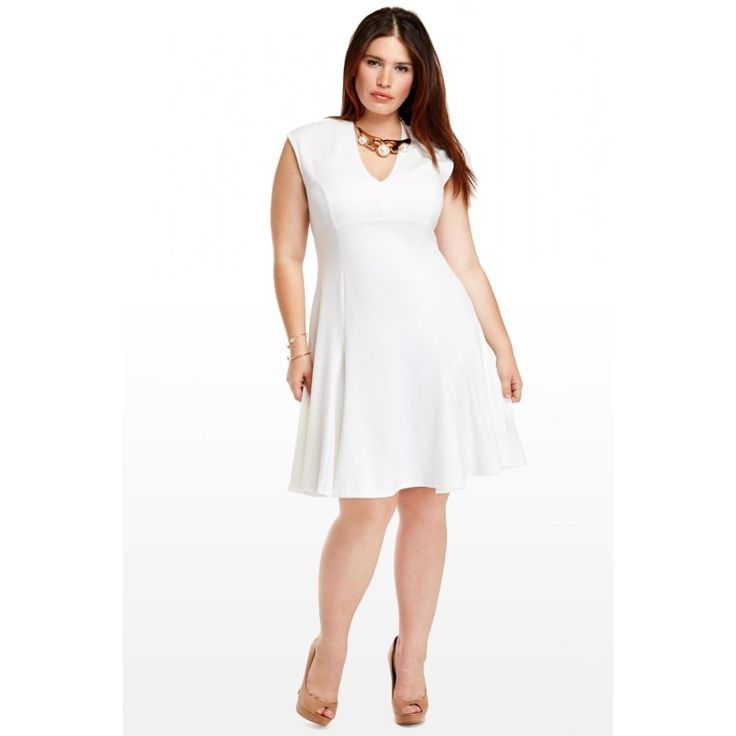 Plus Size White Club Dresses Fashion Dresses