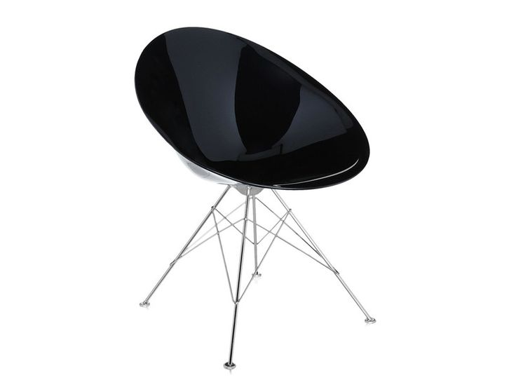 Ero|S| is a contemporary egg-shaped chair from designer Philippe Starck.