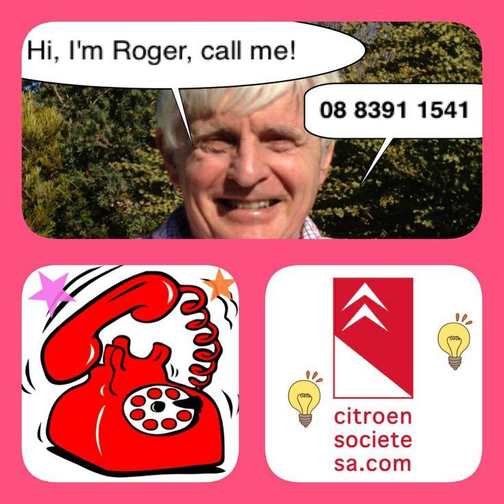 Roger Parker is Citroen Societe SA's contact person :-) 08 8391 1541