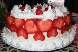 Tort diplomat cu fructe (cel mai rapid) - Culinar.ro