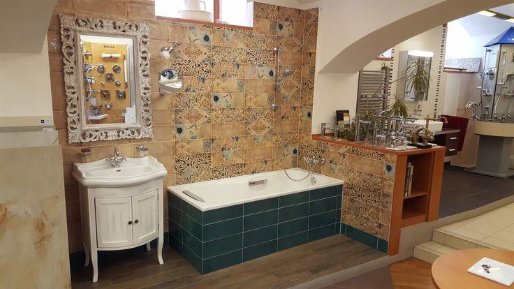 Retro vzorová koupelna patchwork obklad FOREV