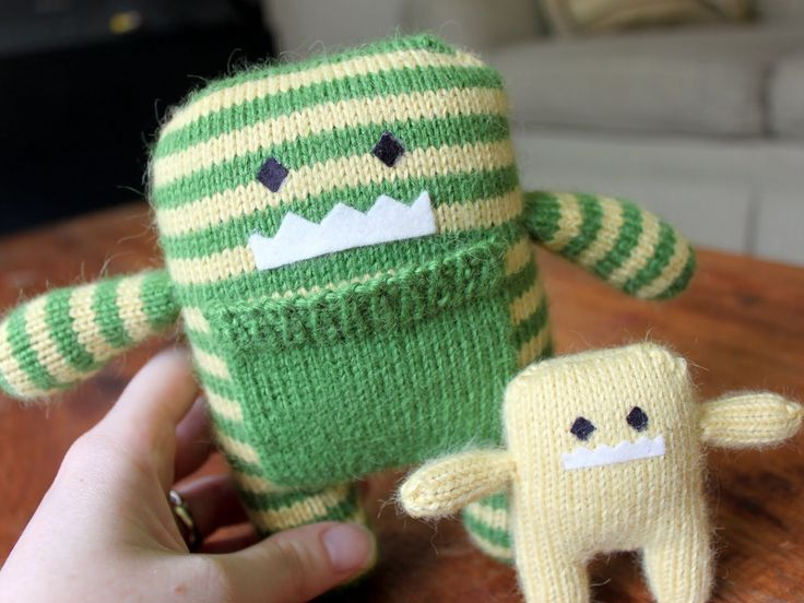 Knitting Stuffed Animals : Best stuffed animals from sweaters images on pinterest