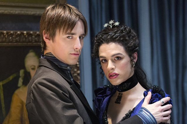 Penny Dreadful | Season 2 | Jonny Beauchamp as Angelique, Reeve Carney as Dorian Gray