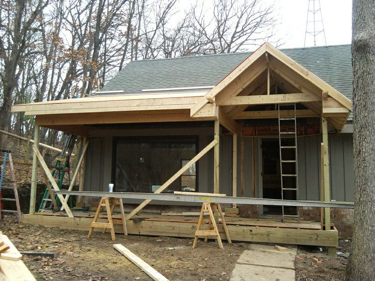 Image result for front porch additions to ranch homes