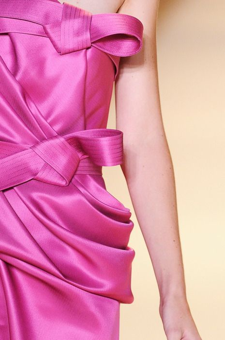 .: Draping Bows, Pink Dresses, Dresses Www 2Dayslook Com, Dresses 2Dayslook, Fuschia Pink, Fuschia Bridesmaid, Pink Bows, Pink Parties Dresses, Valentino Pink