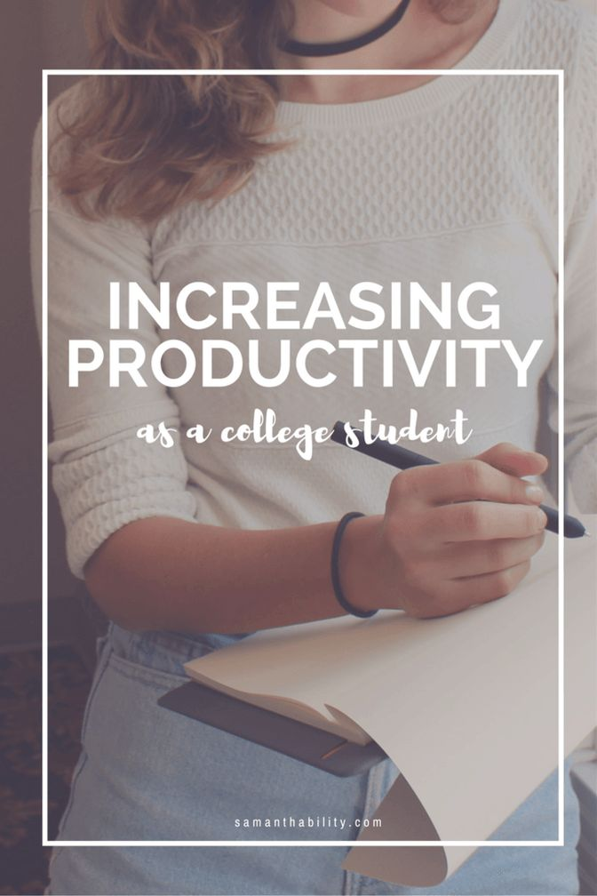 I am constantly distracted by writing, looking at media, movies and television shows, talking usually with my sister and parents on FaceTime, and reading blogs and inspirational stories! Increase your productivity in college with these helpful tips!