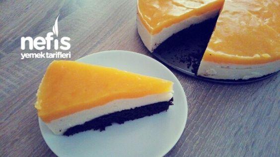 Portakal Soslu Labneli İrmik Tatlısı