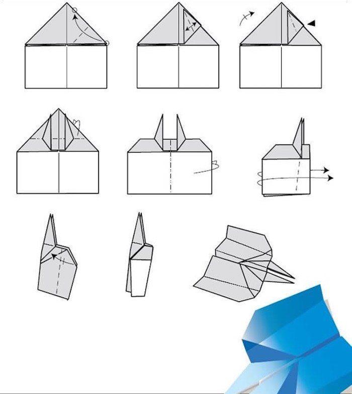 Les 25 meilleures id es concernant comment faire un avion - Comment faire un porte avion en papier ...