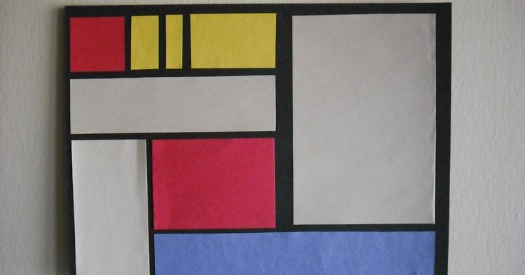 In December you learned about Piet Mondrian . Mondrian's art became more abstract over time until his paintings contained only lines and rec...