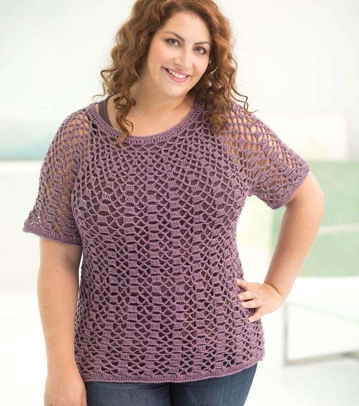 153 Best Plus Size Crochet Images On Pinterest Knitting Stitches