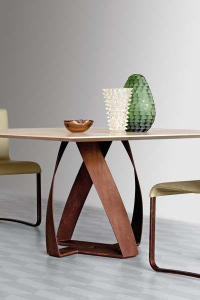 Dining table Square #table Bon Bon Collection by Potocco   #design Alexander Lorenz @PotoccoItaly