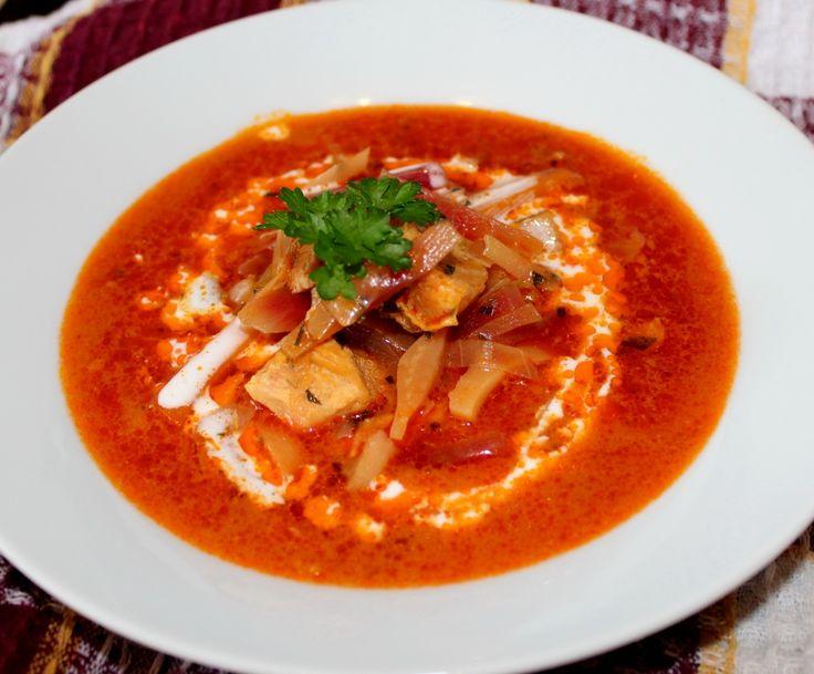 Borscs leves recept