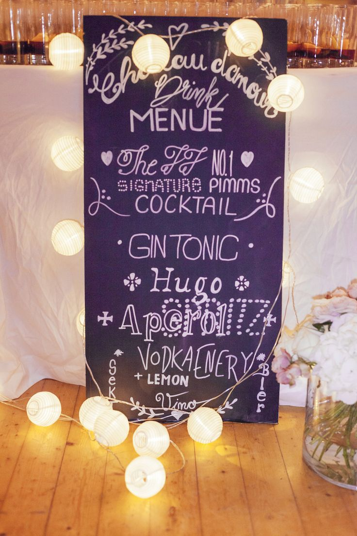 Hochzeitstagebuch: Dekoration, Location und unser Hochzeitsvideo - Journelles