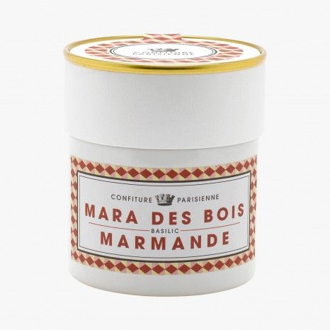 Confiture Mara des bois, tomate Marmande et basilic - Confiture Parisienne