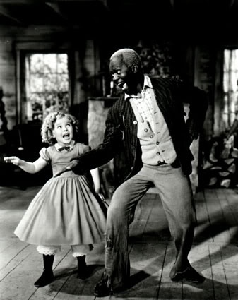 "Bill ""Bojangles"" Robinson and Shirley Temple"