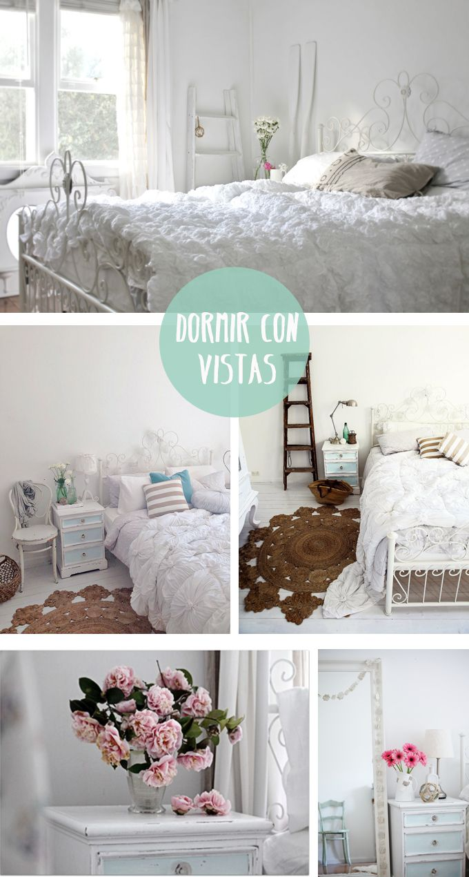 love the ruffly duvet on the bed casa en la playa dormitorio