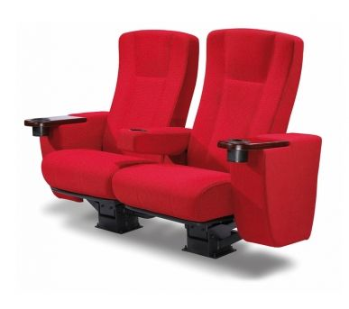 SCARLITTI: The Scarlitti luxury cinema seat is wide, well padded and designed with a retractable arm rest for times when more space is required. This model of cinema seat has a choice of wood finishes for the seat back and is upholstered in premium genuine leather from a range of colour choices. It's the perfect seating solution for home cinemas, gold class theatres or boutique venues.