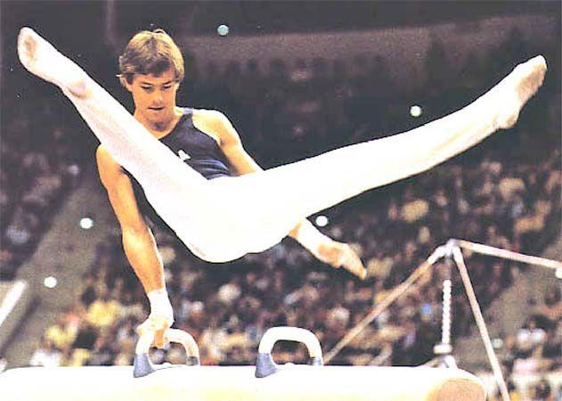 Kurt Thomas was my favorite male gymnast.