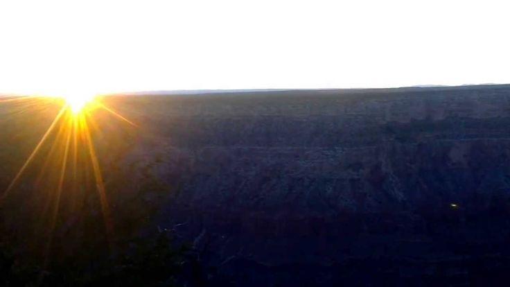 Solnedgang over Grand Canyon