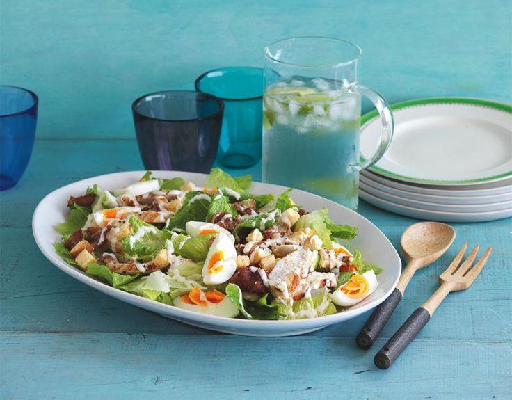 Lemon Chicken Caesar Salad