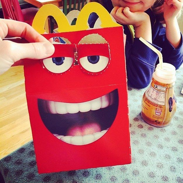 Fabuleux 26 best freaky meal boxes images on Pinterest | Happy meal box  IV93