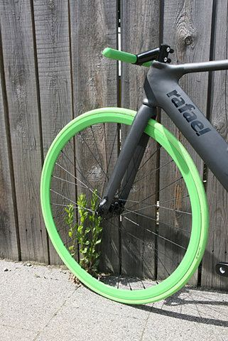Neon green bike wheel decals are a thing you bet they are it takes