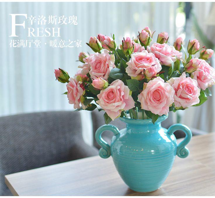 ПОСТРОЕНИЕ искусственные цветы розы цветок искусственный цветок Цветочные украшения гостиной мебель украшения рабочего чувствовать себя увлажняющий шелк -tmall.com Lynx