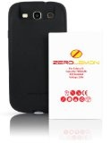 [180 days warranty] ZeroLemon Samsung Galaxy S III 7000mAh Extended Battery + Free Black Extended TPU Full Edge Protection Case(Compatible with Samsung Galaxy S III GT-i9300, ATT Samsung Galaxy S3 Samsung i747, Verizon Samsung Galaxy S3 Samsung i535, T-mobile Samsung Galaxy S3 Samsung T999, U.S. Cellular Samsung Galaxy S3 R530, and Sprint Samsung Galaxy S3 Samsung L710) ***NFC for S Beam and Google Wallet***- WORLD'S HIGHEST S3 BATTERY CAPACITY - Black