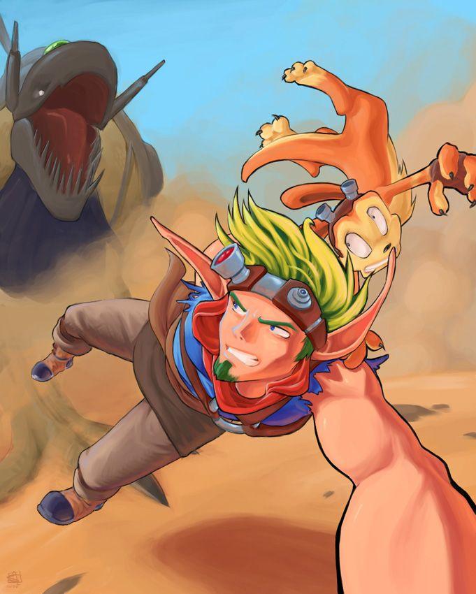 Jak and Daxter: Jak 3 by Merystic.deviantart.com on @DeviantArt