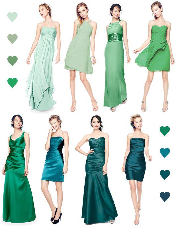 Color Palettes, Bridesmaid Dresses by Color | Palette - David's Bridal